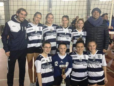 Voley - Las Damas de Club Sarmiento son finalistas del torneo de la Avso.