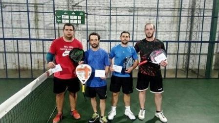 Padel - Velázquez y Lagrimal resultaron 2° en torneo de 4ta categoría.