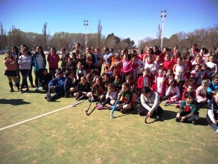 Hockey - En Pigüé, San Martín de Saavedra fue anfitrión de las formativas.