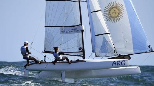 Río 2016 - Lange y Carranza ganaron la segunda medalla de oro para la Argentina.