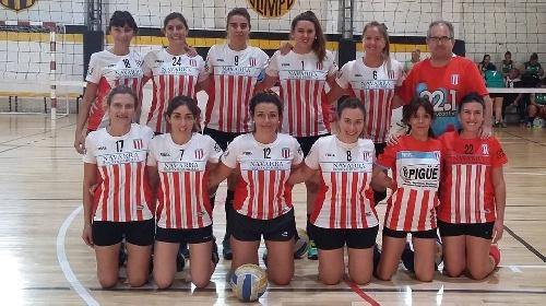 Voley Femenino - Actividad del Club Unión en Bahía Blanca.