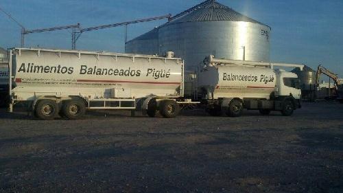 Pigüé: Rescataron un trabajador  atrapado dentro de un silo con cereal  en  Alimentos Balanceados Pigüé