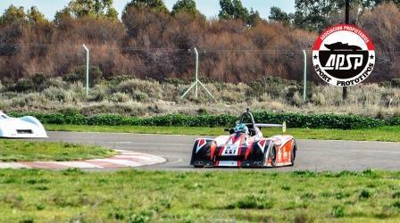 Sport Prototipos - Agustín Serrano se quedó con la clasificación en Viedma.