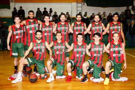 Basquet Tres Arroyos - Deportivo Sarmiento con Palma se presentó en Orense.