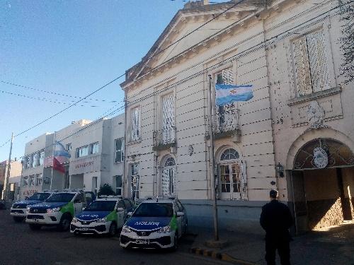 PARTE DE PRENSA POLICIAL SOBRE TENTATIVA DE HURTO AUTOMOTOR.