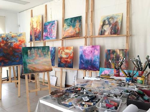 Muestra en el Espacio de Arte Bonjour