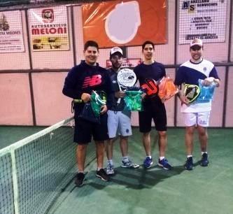Padel - López - Corrente y Aqueveque obtuvieron torneo de 6ta división.