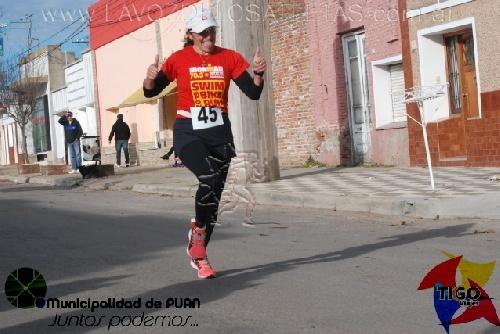 Patricia Gomez Sarlinga segunda en su categoría en triatlon de Tandil.