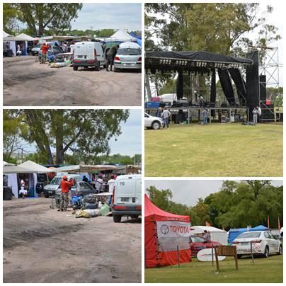 Pigüé: Iniciaron en Parque Municipal los eventos del aniversario de la ciudad
