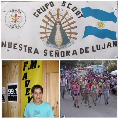 Los scouts realizan una campaña solidaria para los afectados por el temporal en Comodoro Rivadavia