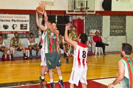 Basquet Tres Arroyos - Con 9 tantos de Damián Palma, Deportivo Sarmiento venció a Sports Club.