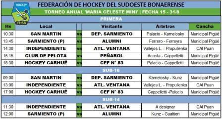 Hockey Femenino - Amplia actividad en Pigüé por el Torneo Anual.
