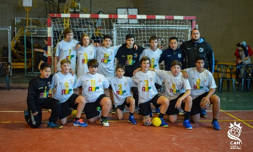 Handball Masculino - Los menores de ABSOBA cayeron ante Santa Fe.