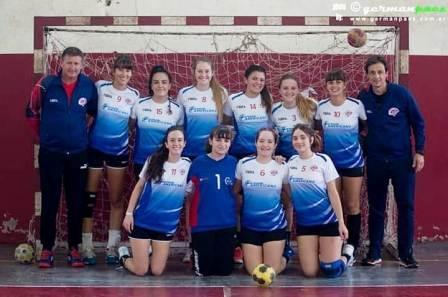 Handball Femenino - Las chicas del Cef y su participación en Chivilcoy.