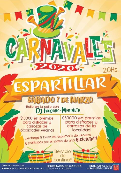 Espartillar de carnaval