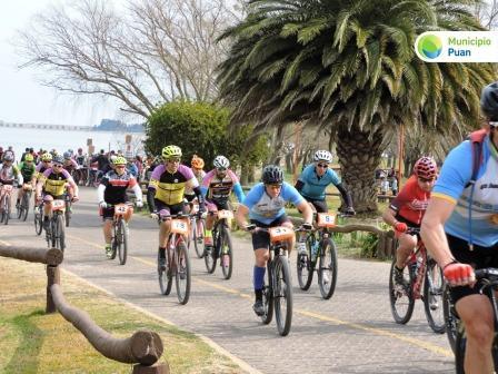 Rural Bike - Participación pigüense en el Desafío de los Cerros puanense.