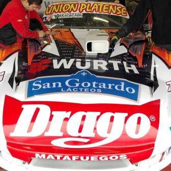 Turismo Carretera - Sergio Alaux clasificó 9° en Termas del Río Hondo.