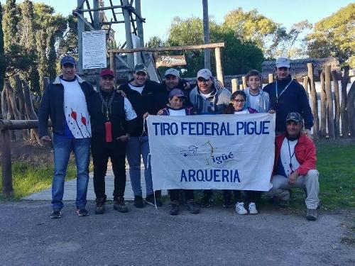 Arquería - Participación del Tiro Federal en certamen de Pedro Luro.