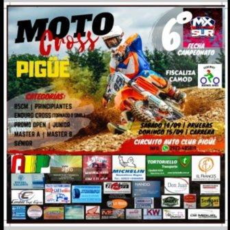 Motocross - Se corre la 6ta fecha del MX en nuestra ciudad.