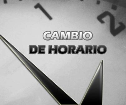 LRF - Cambio de horario en los partidos del día domingo.