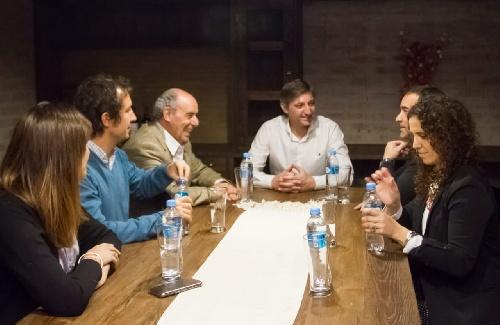 Gustavo Notararigo se reunió con los Intendentes de Adolfo Alsina  y Puan
