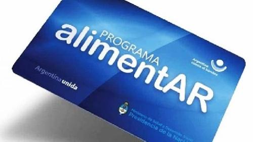 Entrega de tarjetas programa AlimentAR