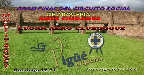 Edición final del Torneo 7 ciudades de Arquería organizado por el Tiro Federal Pigüé
