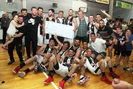 Blanco y Negro campeón del basquet tresarroyense.