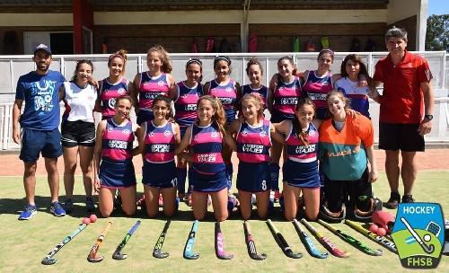 Hockey Femenino - El Cef 83 Sub 16 jugó dos partidos en el provincial de Bahía Blanca.
