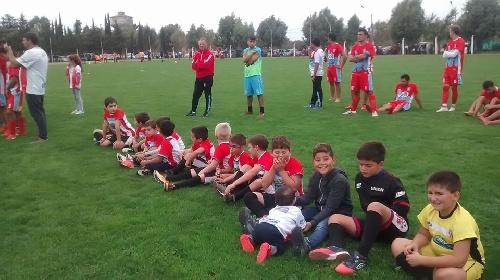 Fútbol Infantil - Encuentro de Escuelitas en Villa Brumana.