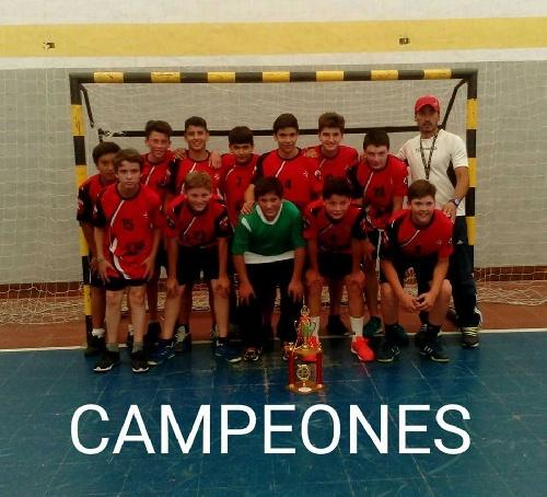 Handball Masculino - Guaminí en menores se proclamó campeón del Torneo Anual de ABSOBA.
