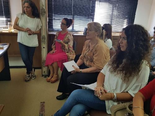"""La diputada Marisol Merquel, participó de la jornada """"Mujeres, armas y violencia"""","""