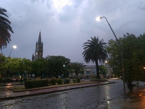 Registros de lluvia en Pigüé y la zona el fin de semana