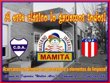 Deportivo Argentino y Unión Pigüé se unen en la solidaridad.