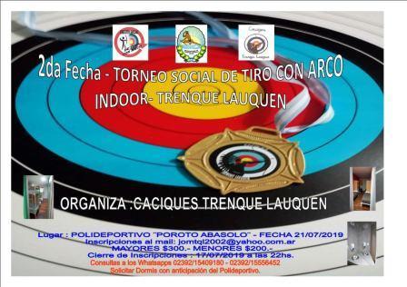 Arquería - Participación pigüense en torneo Indoor Trenque Lauquen.