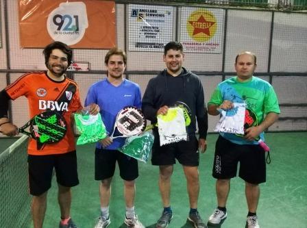 Padel - Fermín Scoco y Juan Luis Hipperdinger ganaron el torneo de 5ta división.