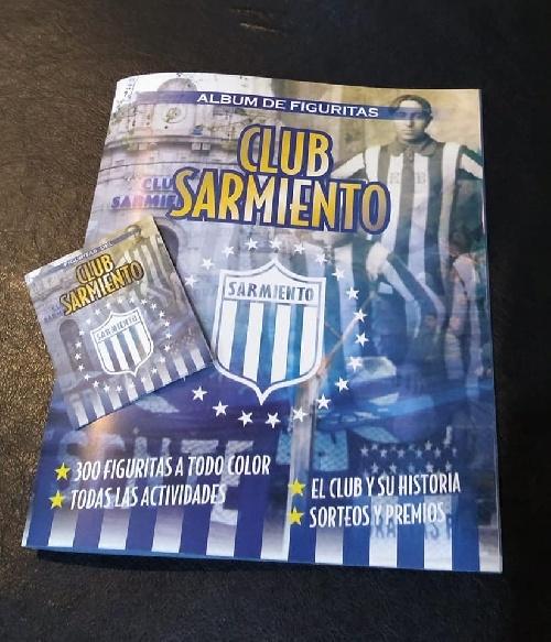 CANJE Y SORTEOS DEL  ALBUM DE FIGURITAS DE CLUB SARMIENTO