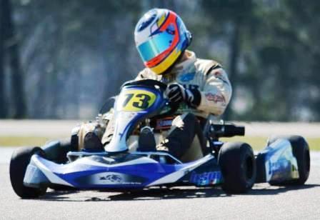 Karting del Sur - Fernando Gómez Fredes salta del 3° al 2° lugar en el Sudam Master.