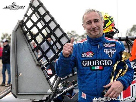 Midget - Fernando Saldamando se quedó con el Invernal Clase B.