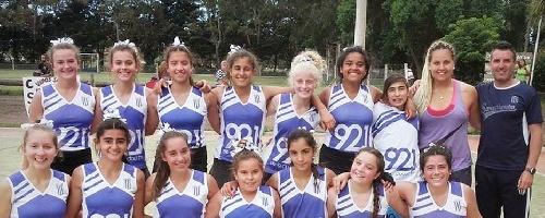 Hockey Femenino - Dos victorias y un empate lleva Sarmiento en el Torneo Provincial Sub 14 que se desarrolla en Mar del Plata.