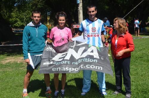 Atletismo - Yanina Clair se impuso en la Maratón de Coronel Pringles.