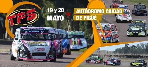 Turismo Promocional STD - La tercer fecha del calendario se hace presente en Pigüé - El Kart acompañará a la categoría. .
