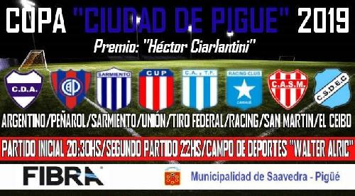Deportivo Argentino organiza una nueva edición del torneo amistoso de futbol Ciudad de Pigüé