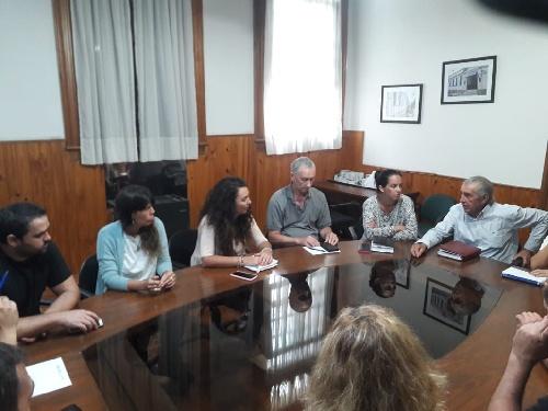 Merquel se reunió con concejales locales de todos los bloques políticos
