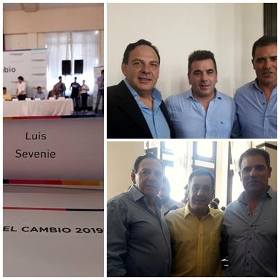 El concejal Luis Sevenié participó de un Foro con el Ministro de Seguridad Ritondo