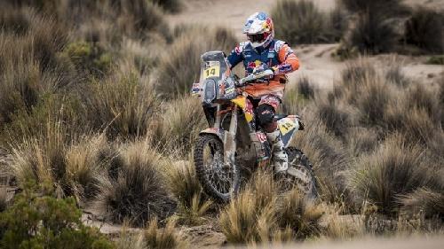 El británico Sunderland se impusó en Motos - Rally Dakar 2017