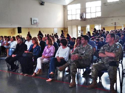 Acto de inicio del Ciclo Lectivo 2019 en el Distrito de Saavedra Pigüé