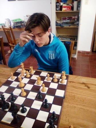 Ajedrez - Alejo Pérez Kreder ganó el Blitz de entresemana.