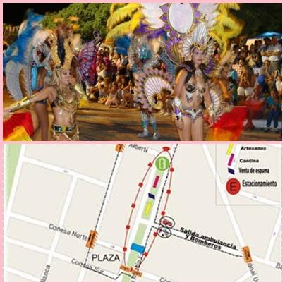 Pigüé: Carnavales en el Barrio Ducós