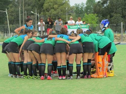 Hockey Femenino - Un empate y una derrota para los Sub 14 del SudOeste en el Regional de Selecciones.